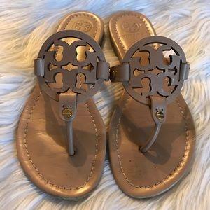 7deeedc9196 Tory Burch Shoes - Tory Burch Miller Sandals Size 7.5!